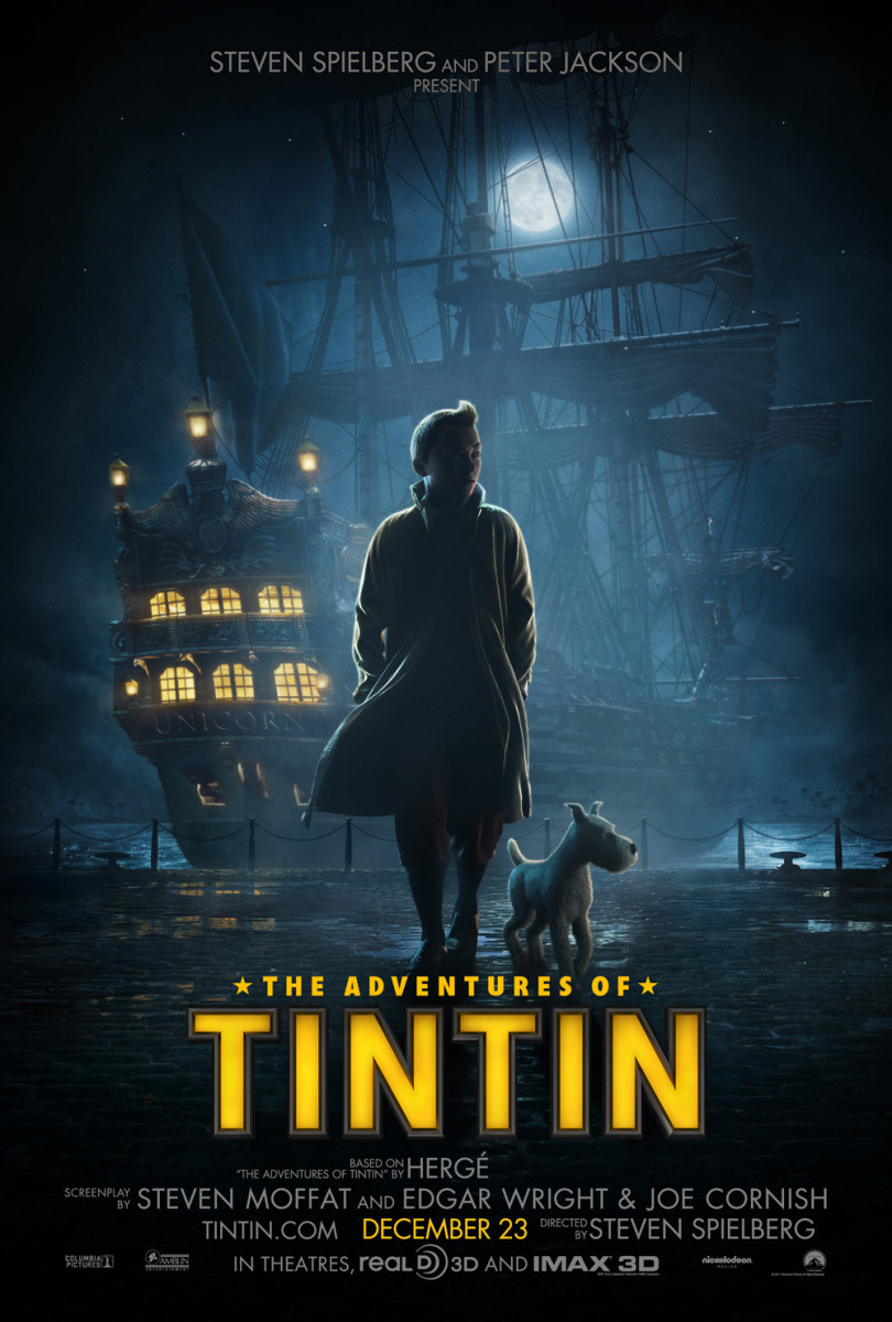 The Adventures of TinTin - US poster