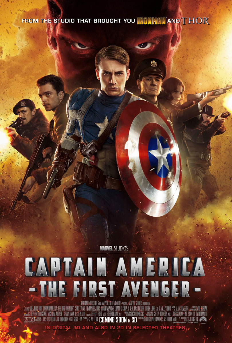 Captain America - The First Avenger - International Poster