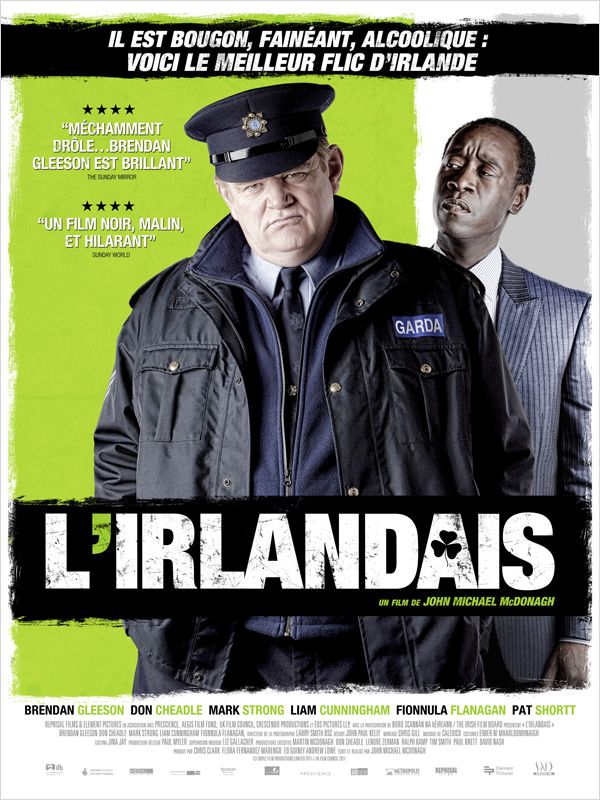 L'irlandais - Poster for Irish movie The Guard in France