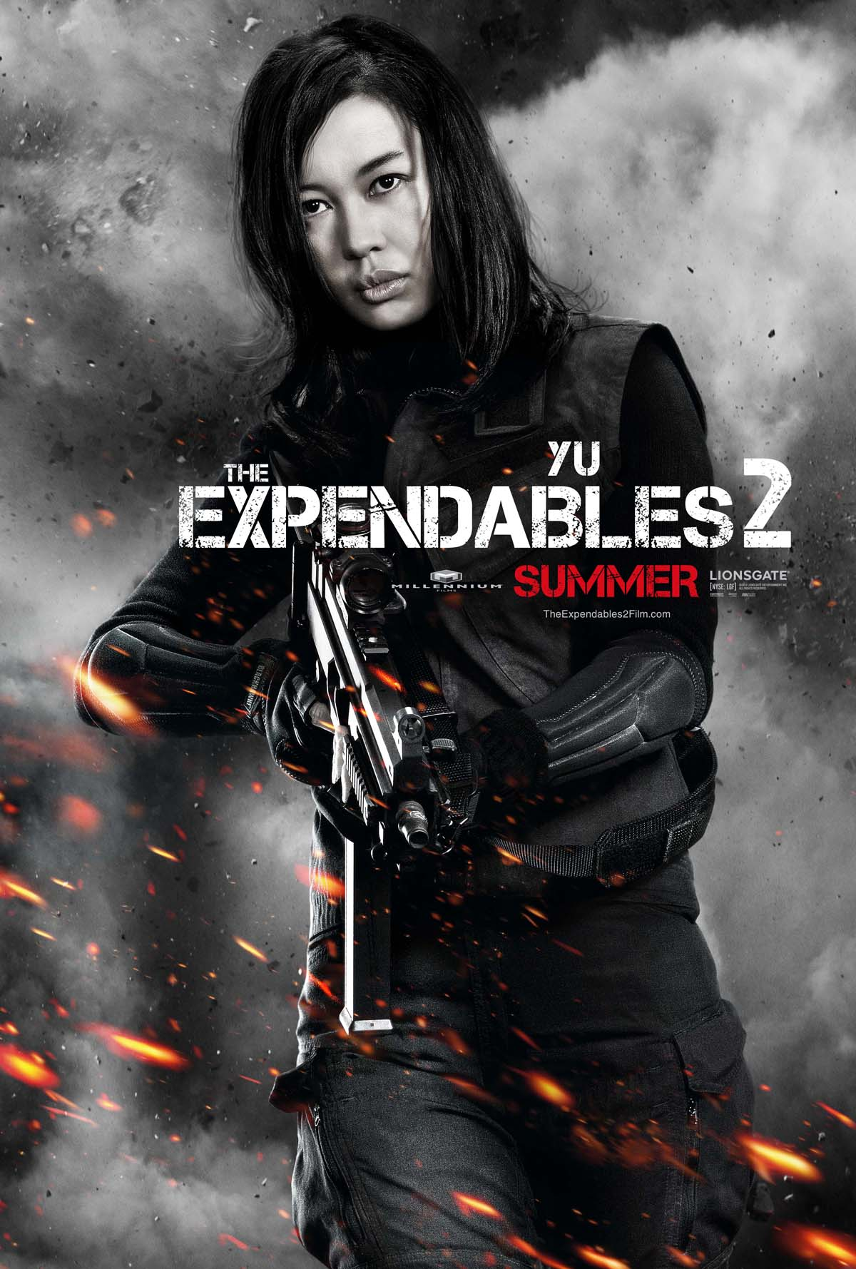 Yu Nan as Maggie in Expendables 2