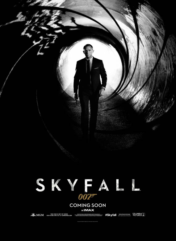 Skyfall Teaser Poster - Movie Posters