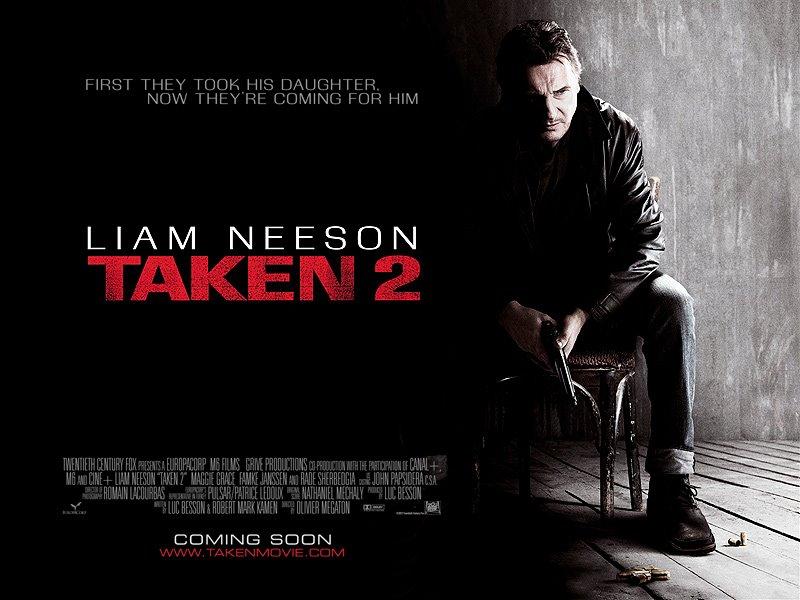 Taken 2 starring Liam Neeson