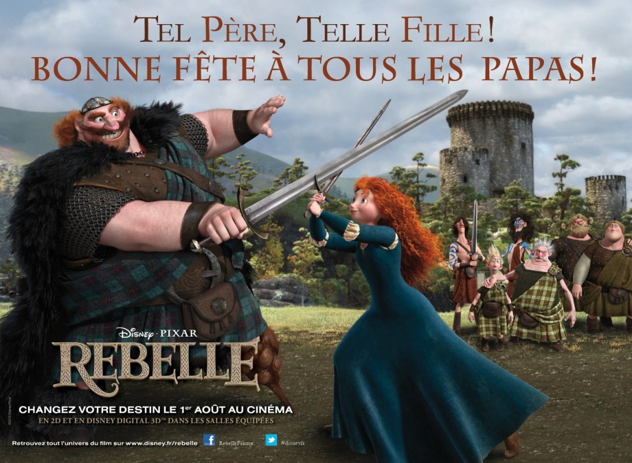 Brave - French Poster (Rebelle)