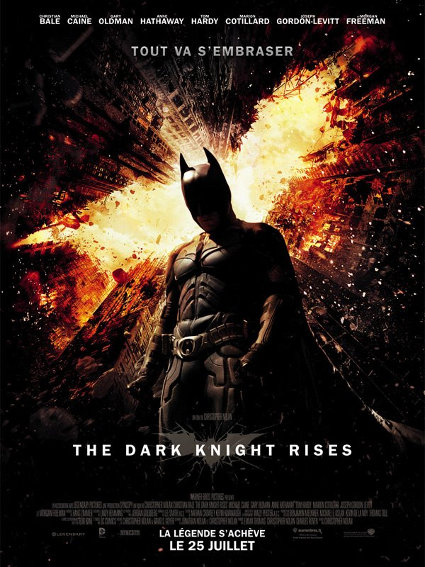 Dark Knight Rises French poster