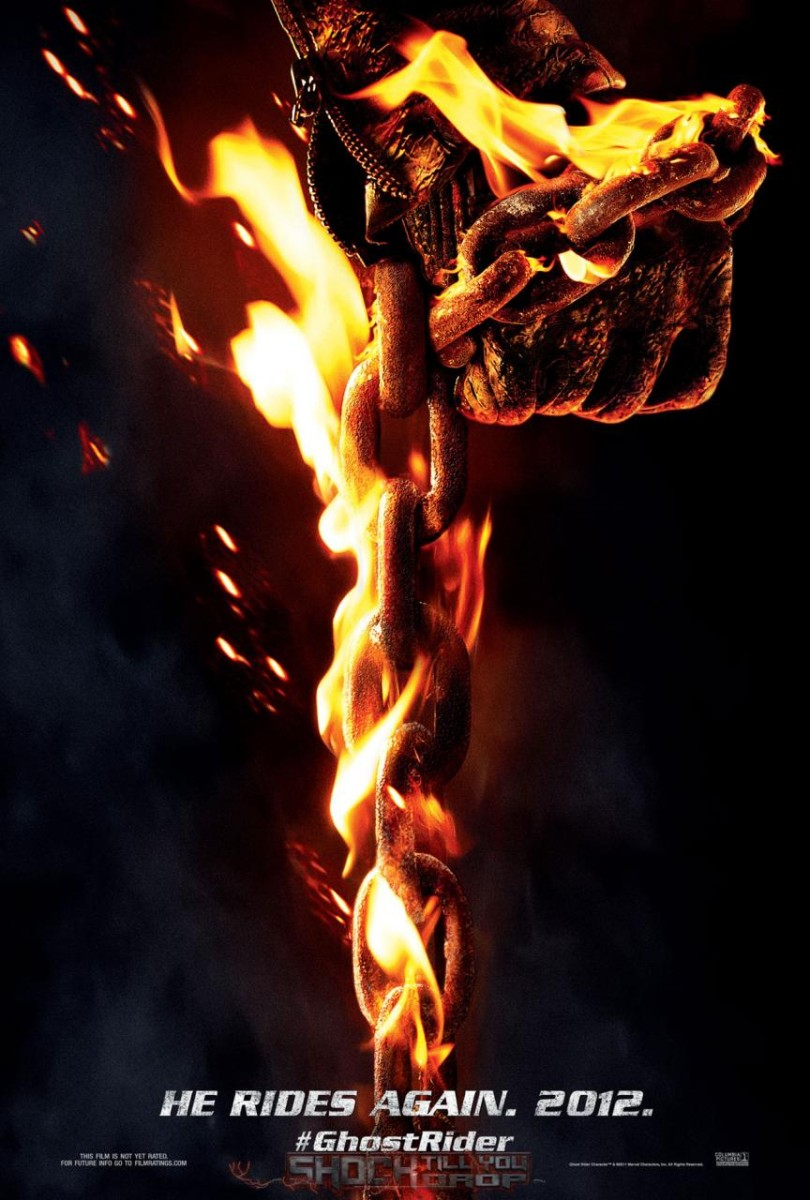 Ghost Rider Spirit of Vengeance teaser poster