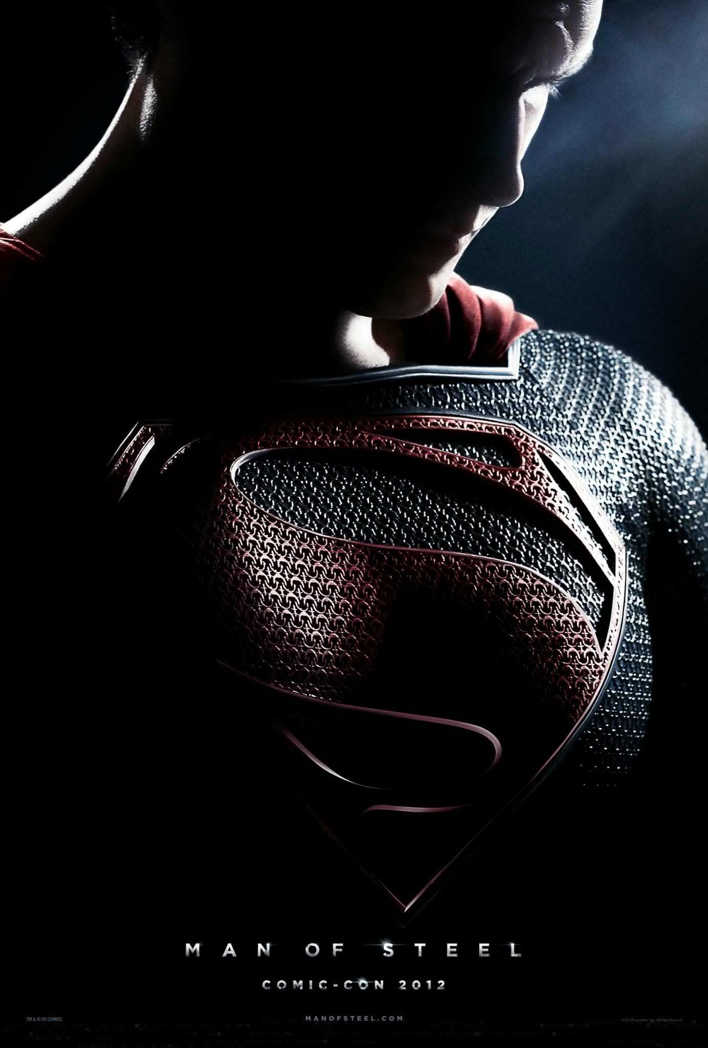 Superman  - man of steel teaser poster
