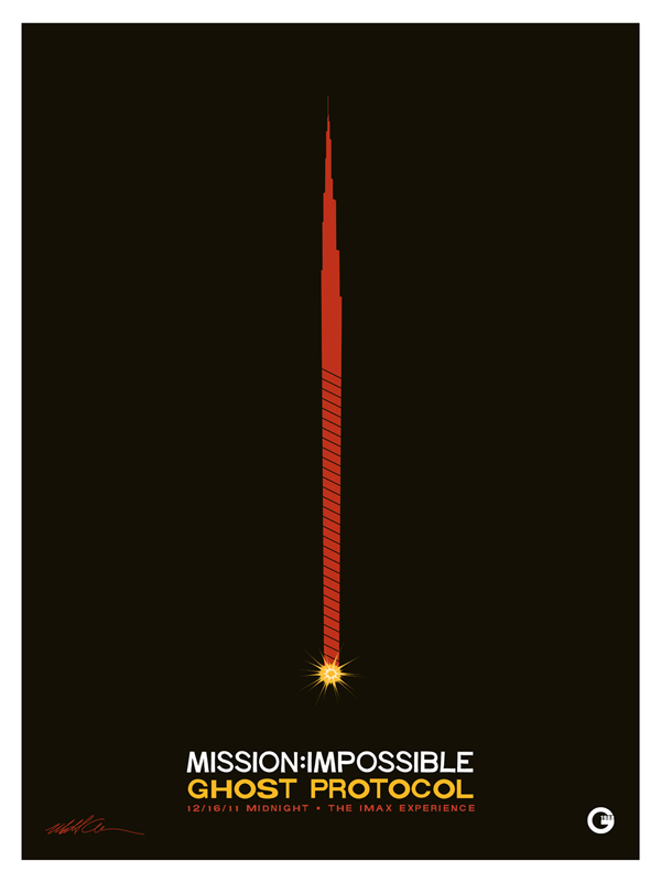Mission Impossible Ghost Protocol - Movie Posters