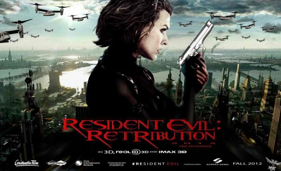 Resident Evil Retribution (Quad poster)