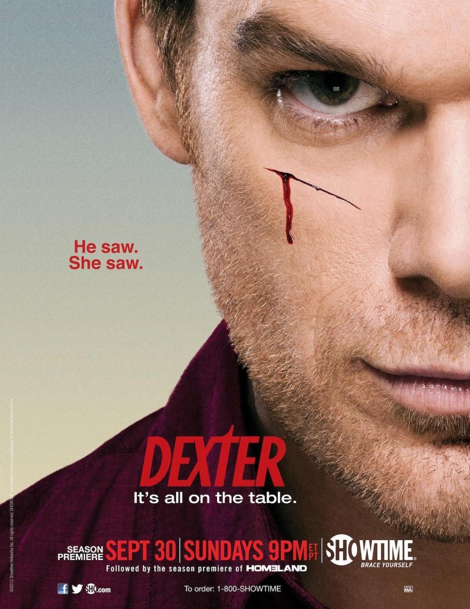 Dexter season 7 poster artwork