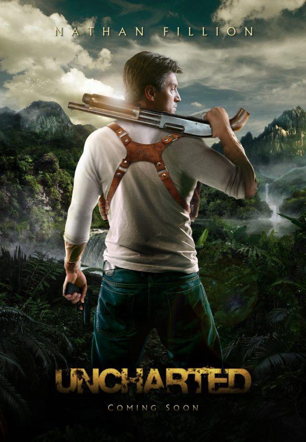 Uncharted teaser Nathan Fillion