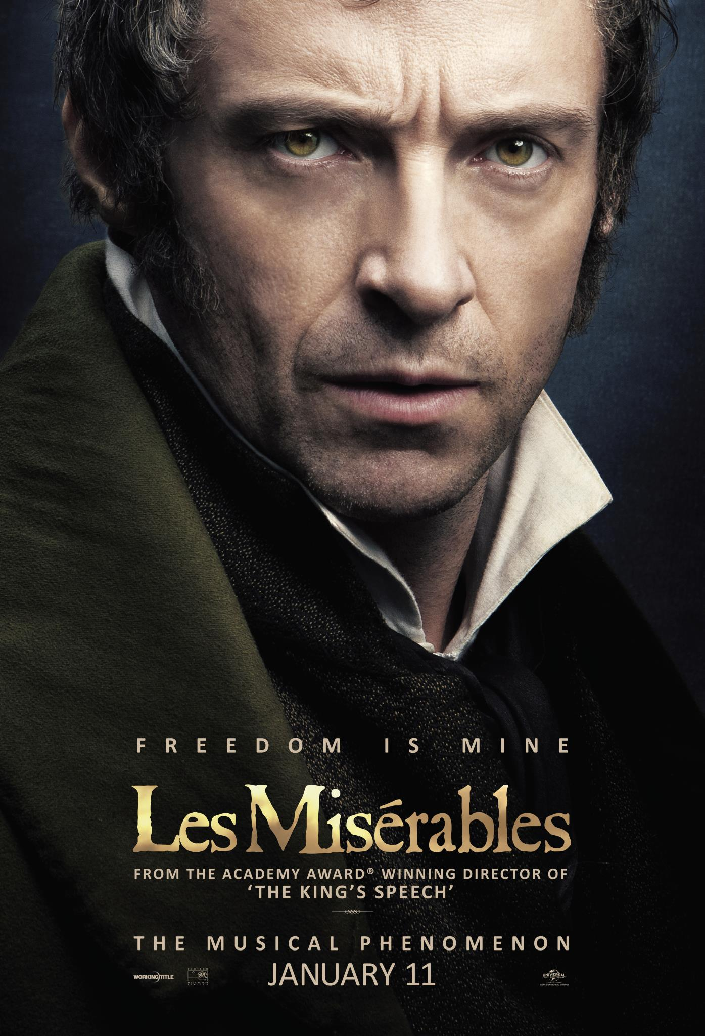 Russell crowe les miserables poster - photo#13