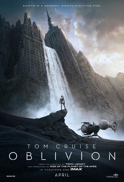 Oblivion starring Tom Cruise