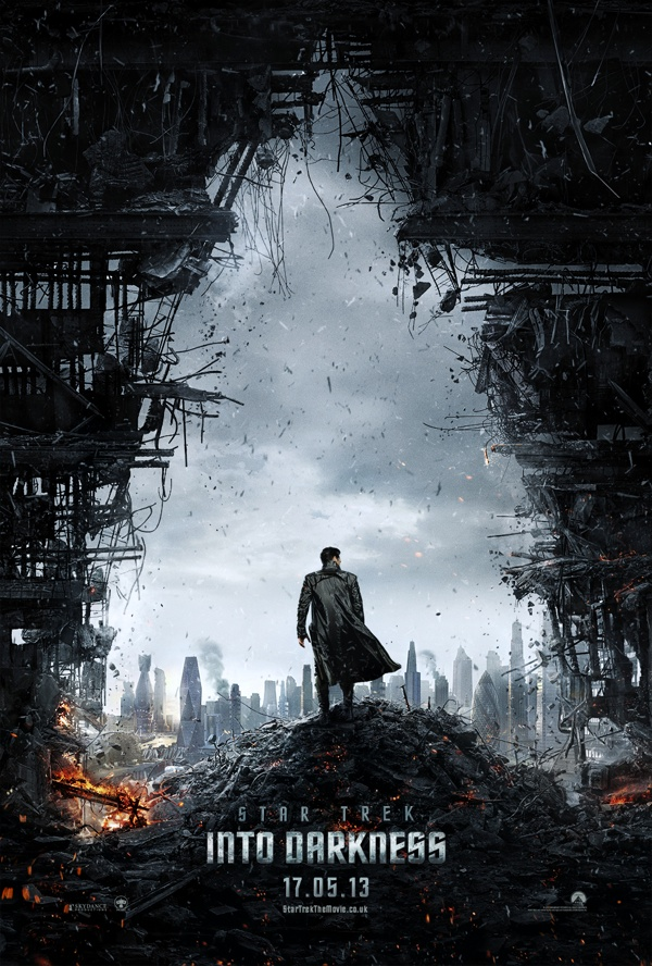 Star Trek Into Darkness UK teaser poster