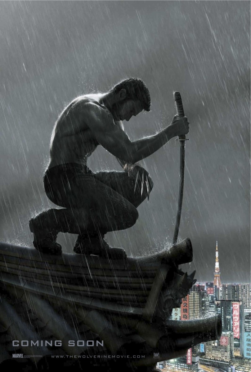 The Wolverine starring Hugh Jackman UK poster artwork