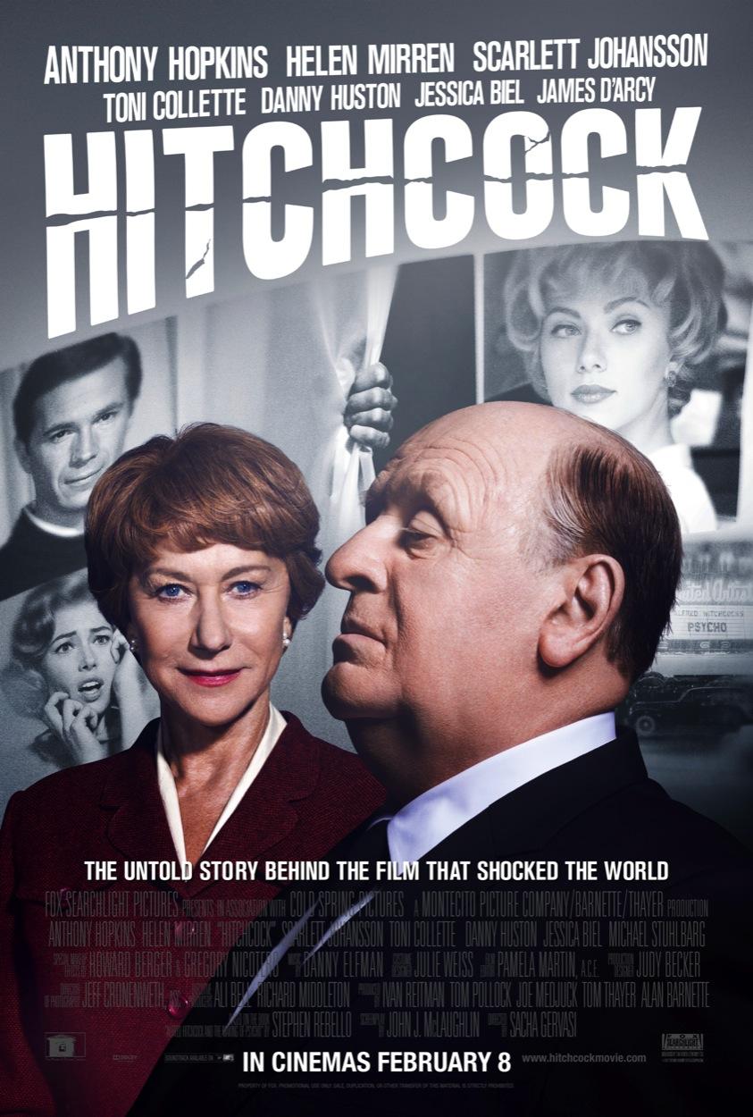 Hitchcock (2012) UK poster