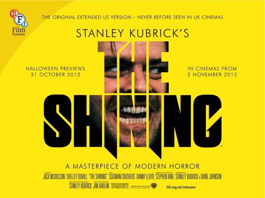 Resultado de imagem para the shining poster