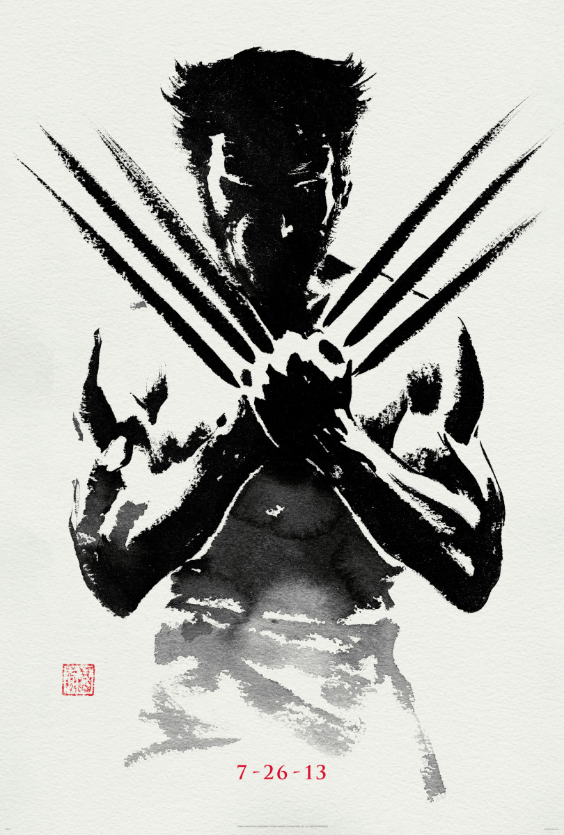 The Wolverine US poster
