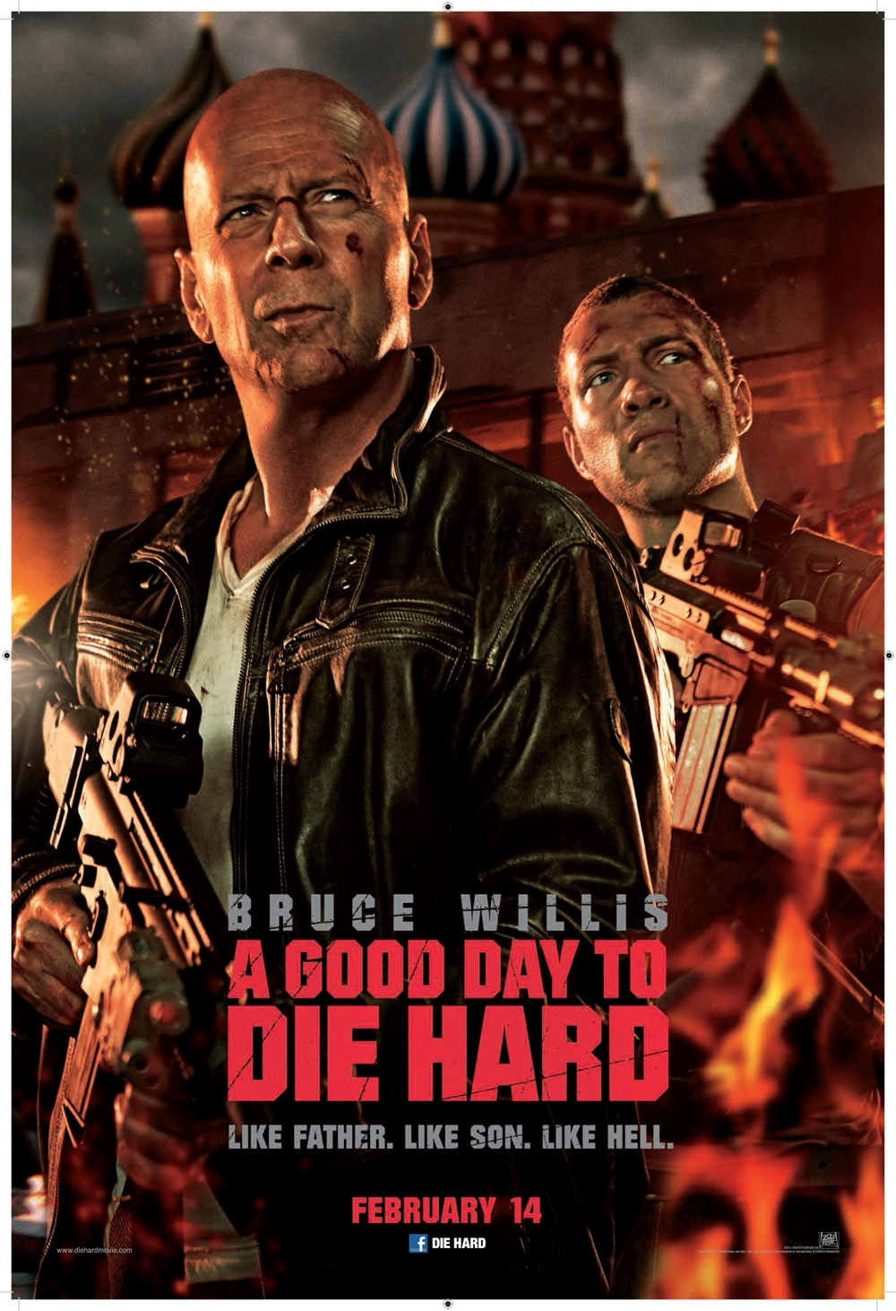 A Good Day To Die Hard (UK poster)