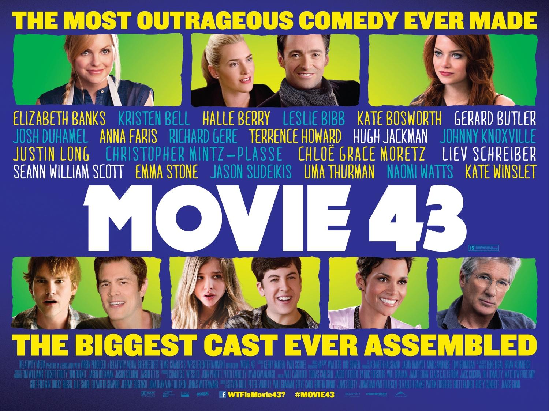 Movie 43 quad poster