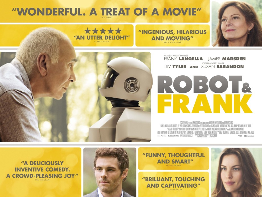 ROBOT & FRANK UK Quad poster