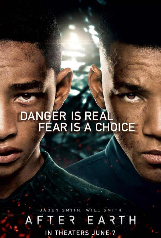 After Earth starring Will Smith & Jaden Smith