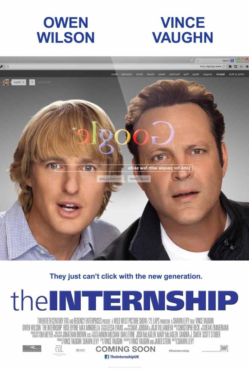 The Internship Teaser 1 Sheet