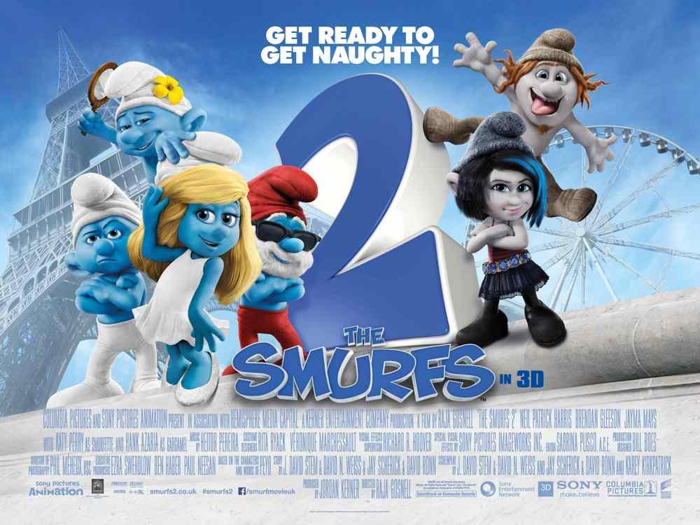 Smurfs 2 movie poster