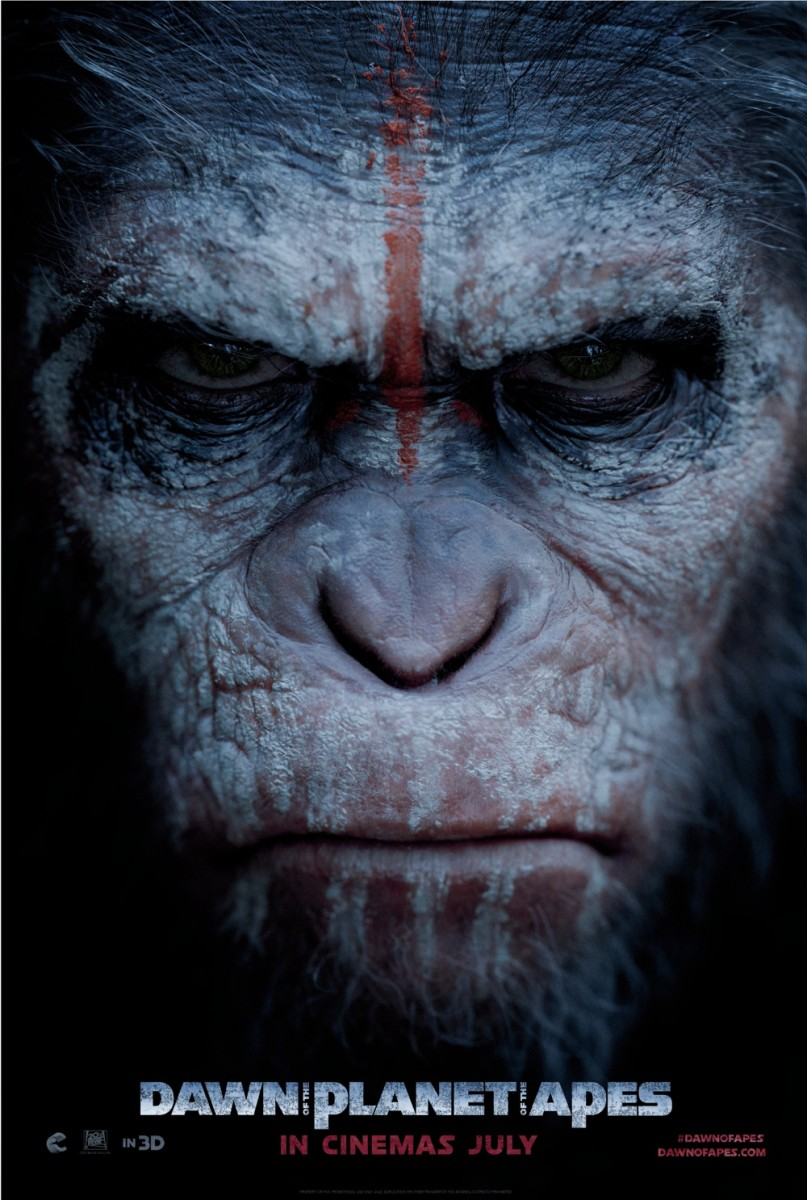 Dawn of the Planet of the Apes poster artwork