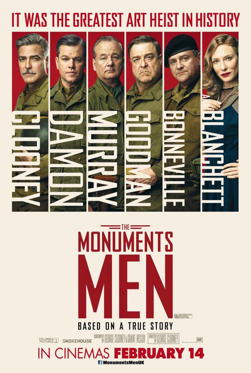 The Monuments Men 1 Sheet