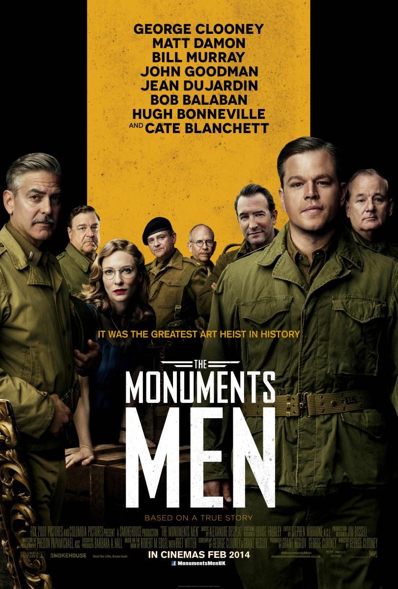 The Monuments Men International 1 Sheet