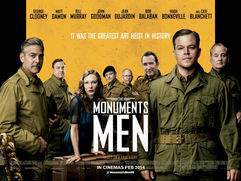 The Monuments Men International Quad
