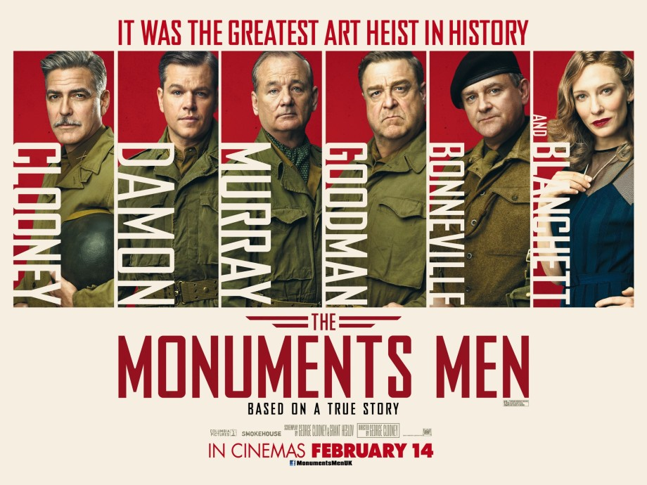 The Monuments Men Quad