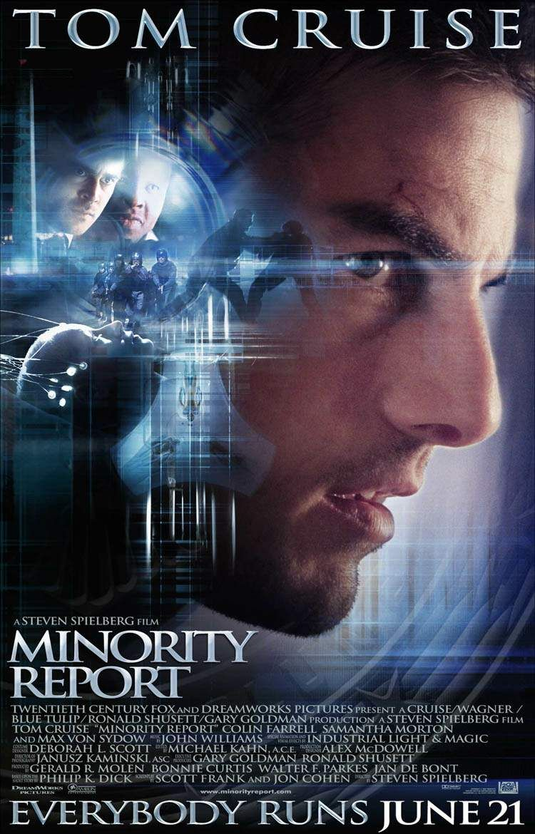Minority Report starring Tom Cruise