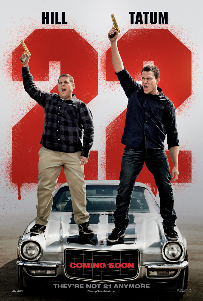 22 Jump Street teaser one-sheet