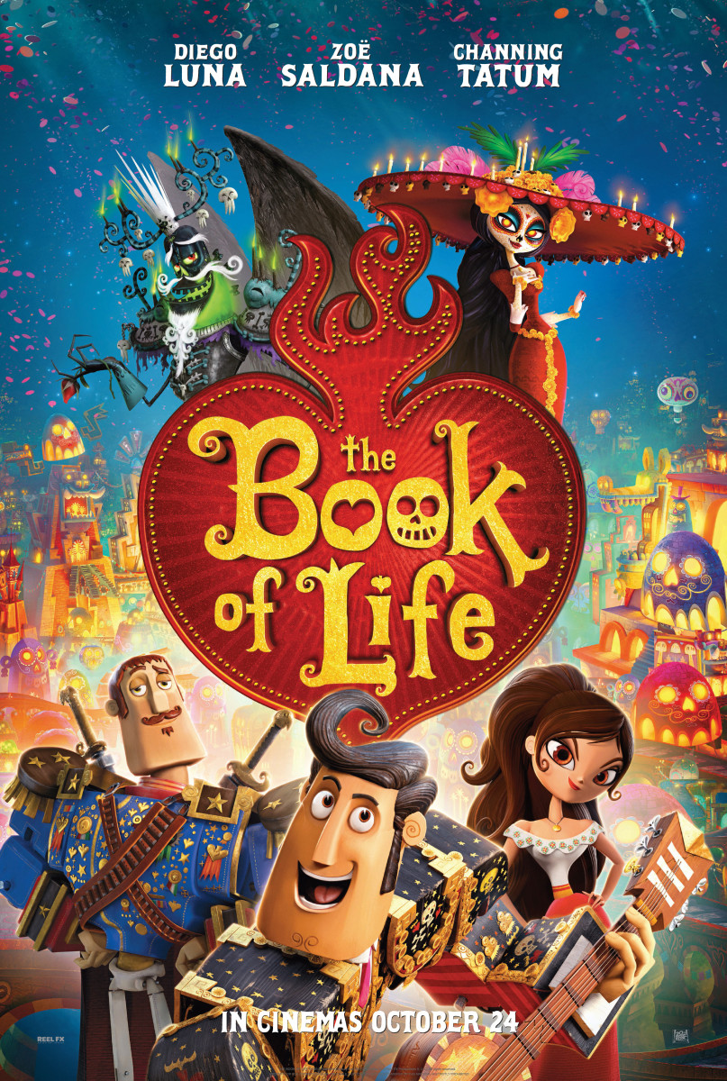 THE BOOK OF LIFE TEASER ONE SHEET