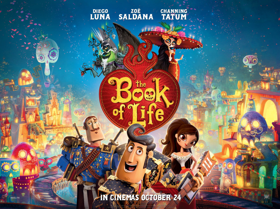 THE BOOK OF LIFE TEASER QUAD