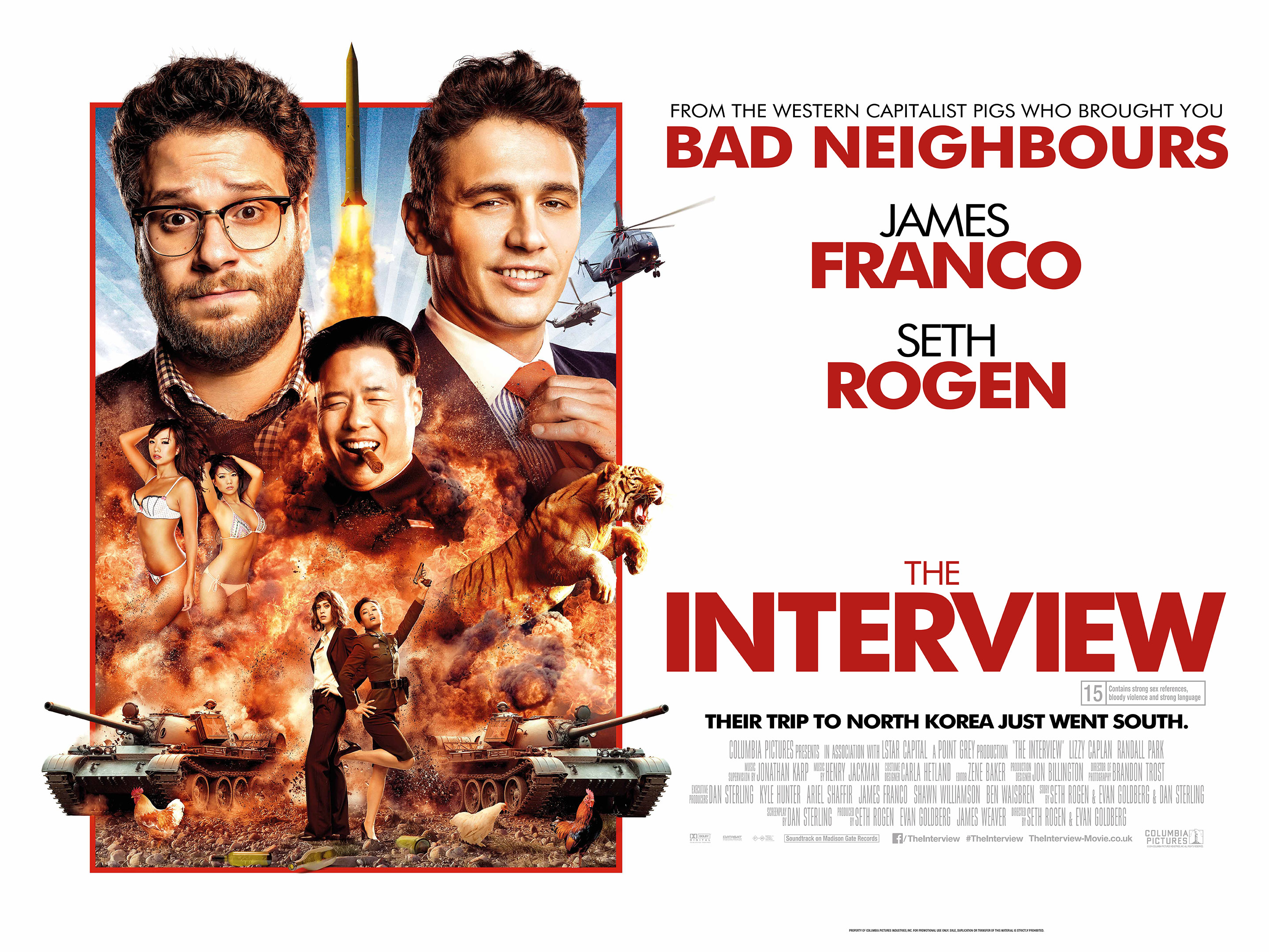 the interview movie posters