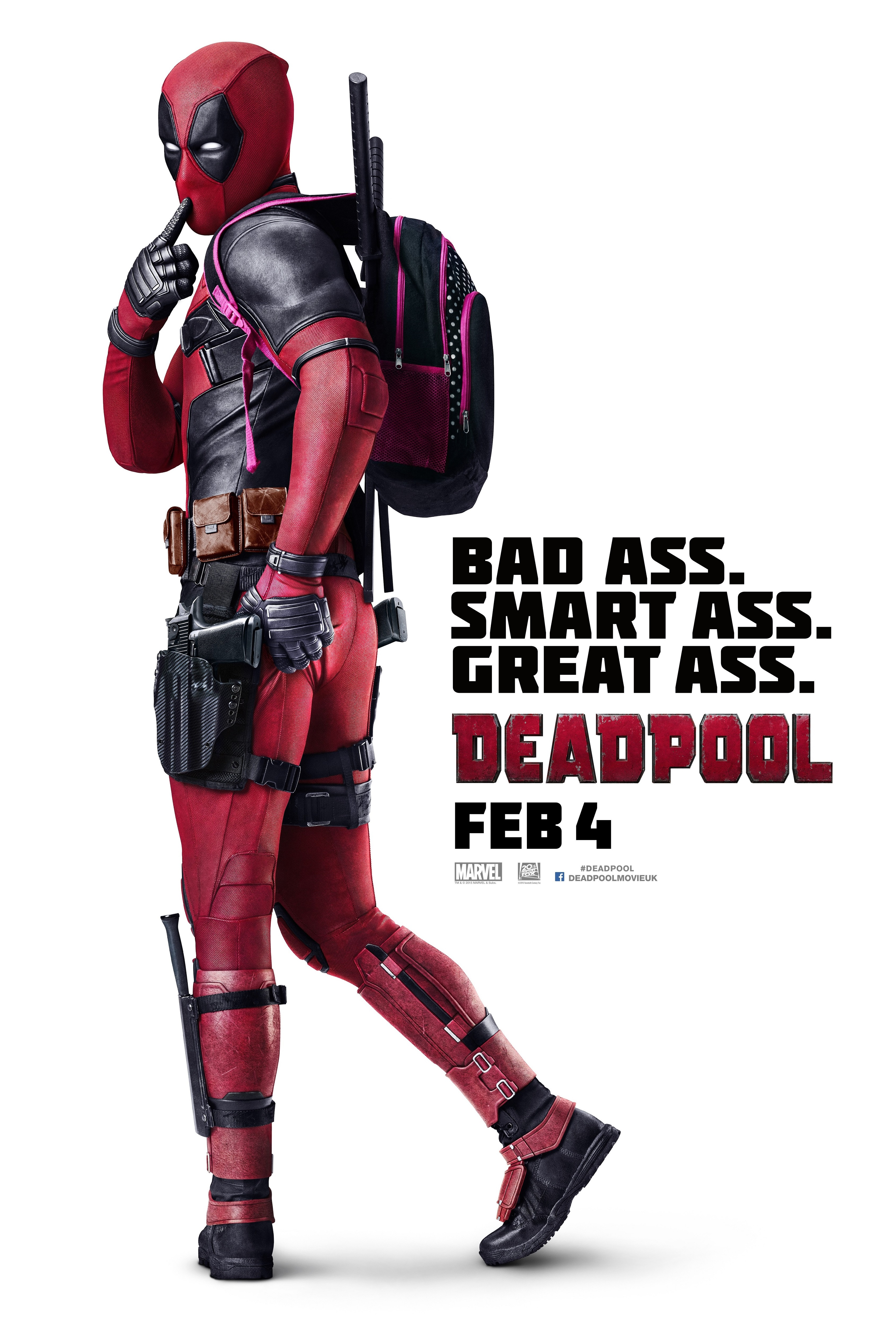 Deadpool International One Sheet