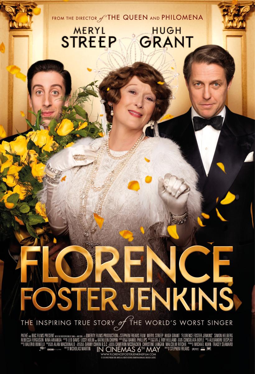 FLORENCE FOSTER JENKINS UK Poster