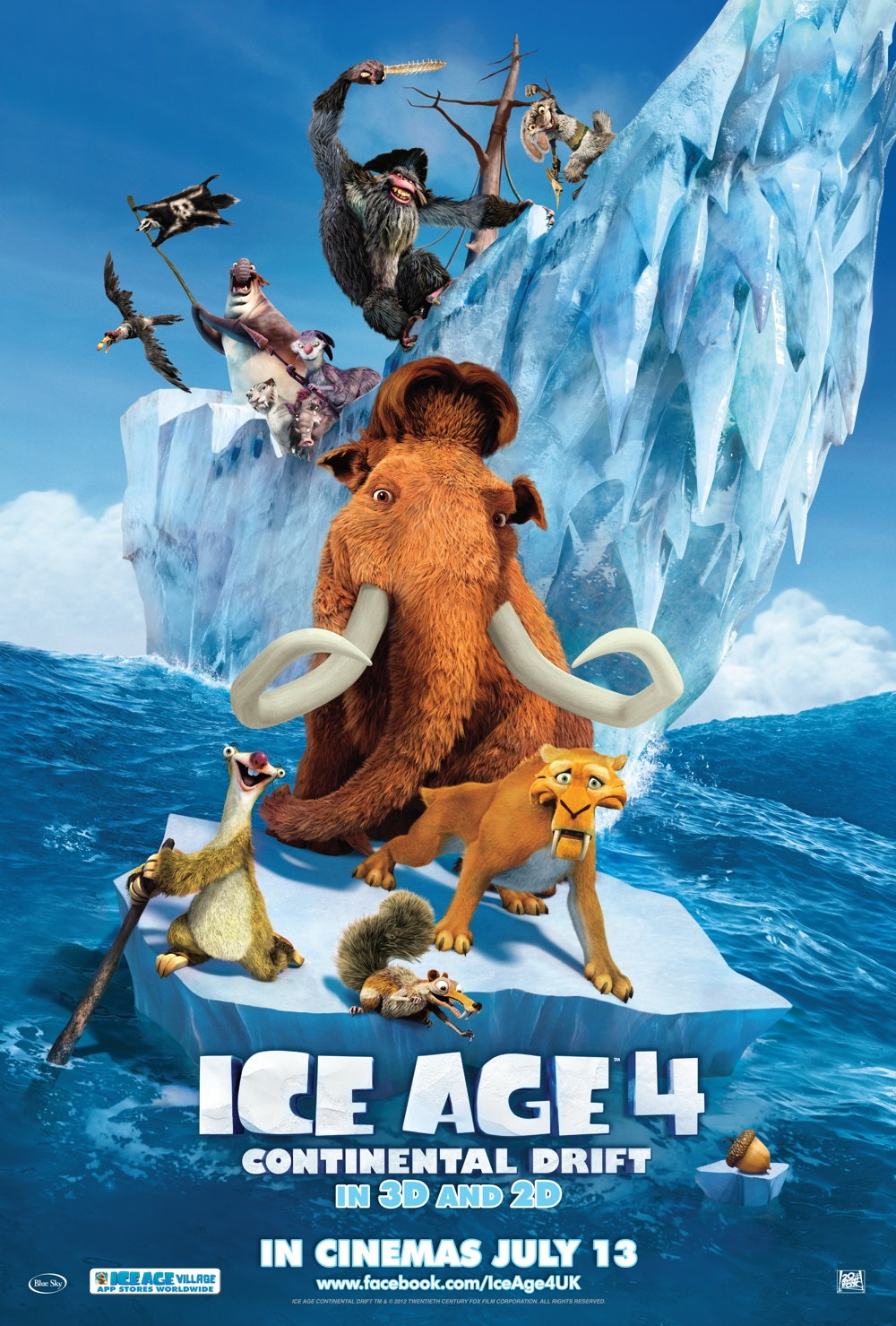 ice-age-4-poster - Movie Posters