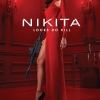 Nikita TV poster with Maggie Q in red