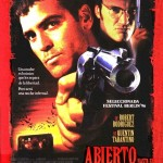 Spanish poster for From Dusk Till Dawn - Abierto Hasta el Amanecer