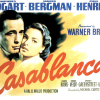 Casablanca (1942) starring Humphrey Bogart and Ingrid Bergman