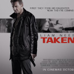 Taken 2 UK poster starring Liam Neeson