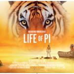 Life of Pi tiger quad poster