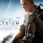 Elysium UK / Ireland quad poster