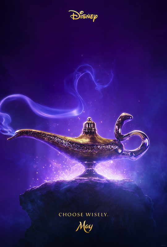 Aladdin (2019) teaser artwork