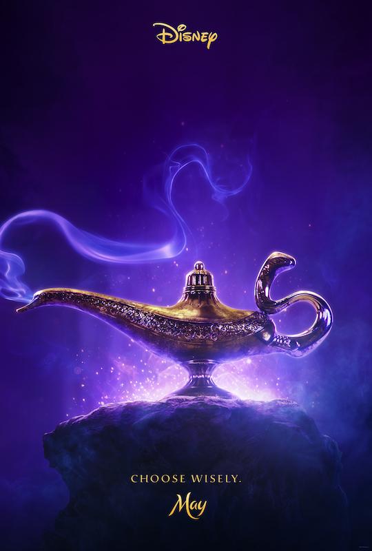 Aladdin (2019) teaser artwork